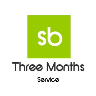 three months service