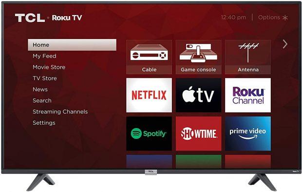 """TCL 4K Smart LED TV, 50"""""""